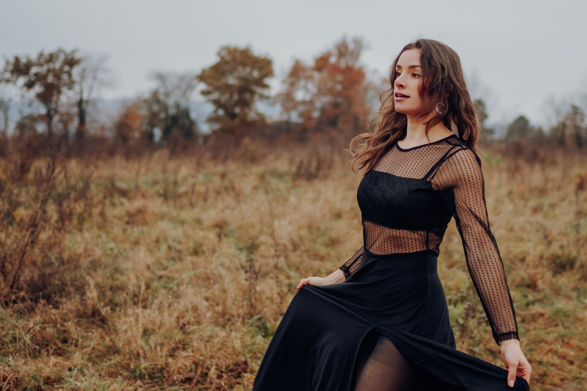Sängerin Christina Woods